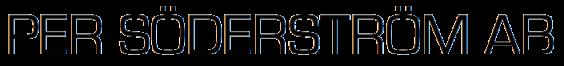 Per Söderström AB Logotyp
