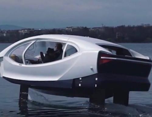 El-driven lätt bärplansbåt – Uber på vattnet